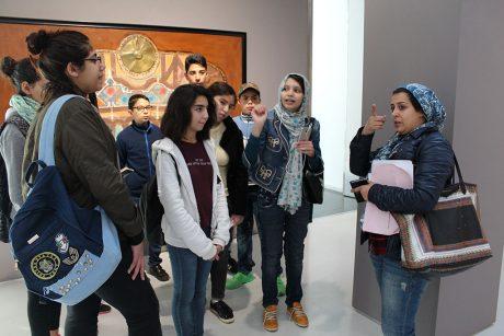 """رواد وحدة الفطرة يكتشفون""""المسار التاريخي للفن التشكيلي بالمغرب في مرحلته الأولى"""""""